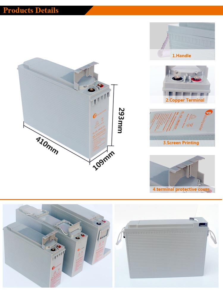 Storage Battery For UPS System
