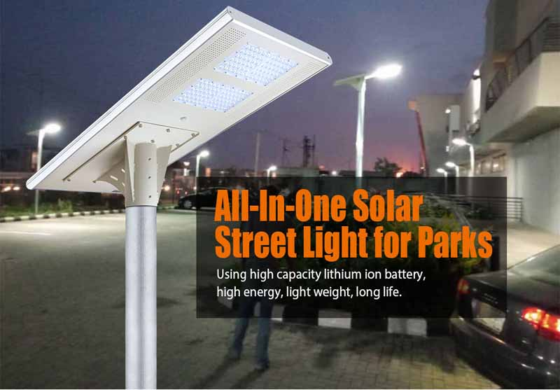 Solar LED All In One Street Lamp