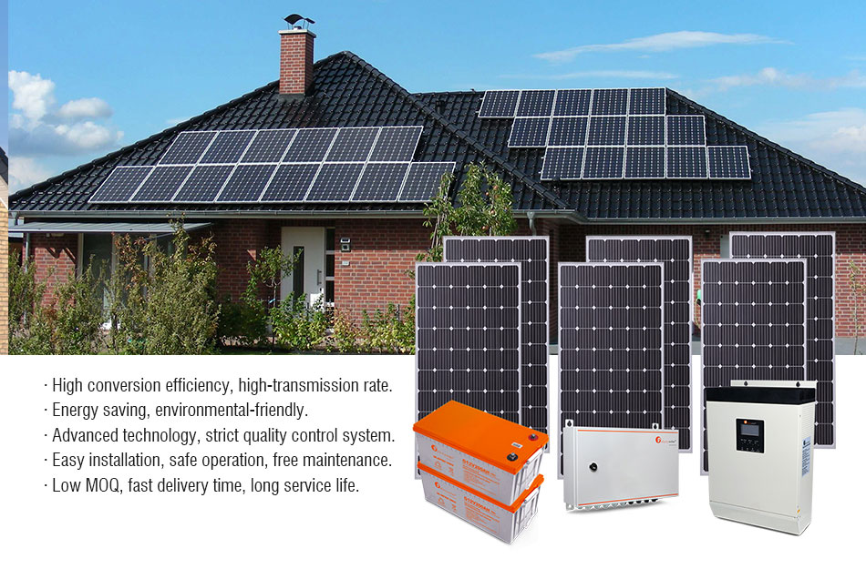 Complete Solar Energy System Design 3Kw Solar Panel Kit System