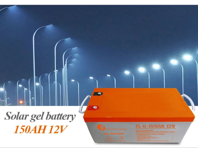 Hot Selling Deep Cycle 12 v 150ah Gel Battery